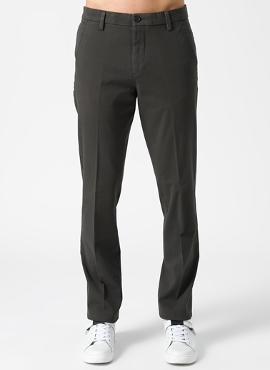 Dockers Dockers Smart 360 Flex Workday Slim Klasik Pantolon Gri